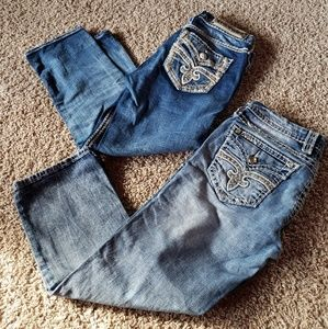 Rock Revival cropped Jean's duo